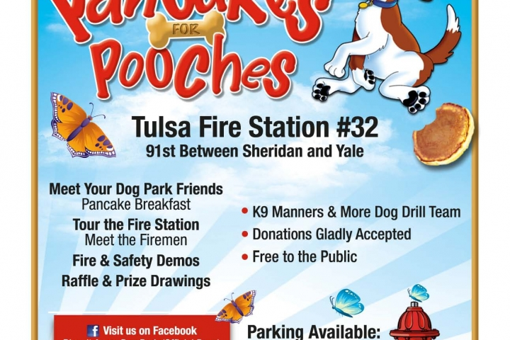 2017 Pancakes for Pooches Flyer