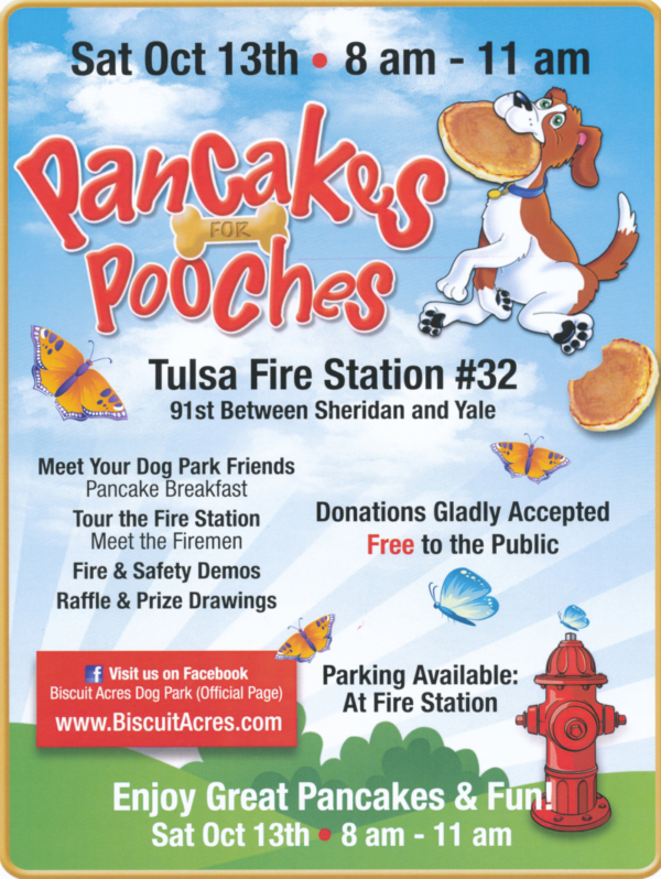 Pancakes for Pooches